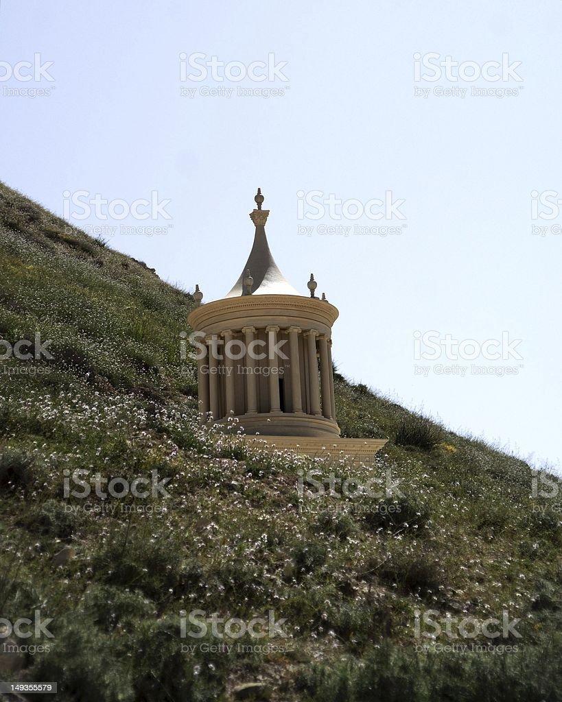 King Herod's mausoleum stock photo