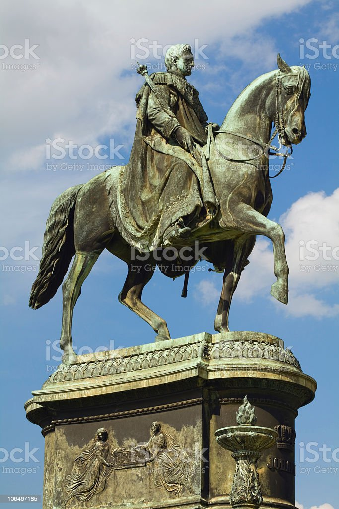 King Johann stock photo
