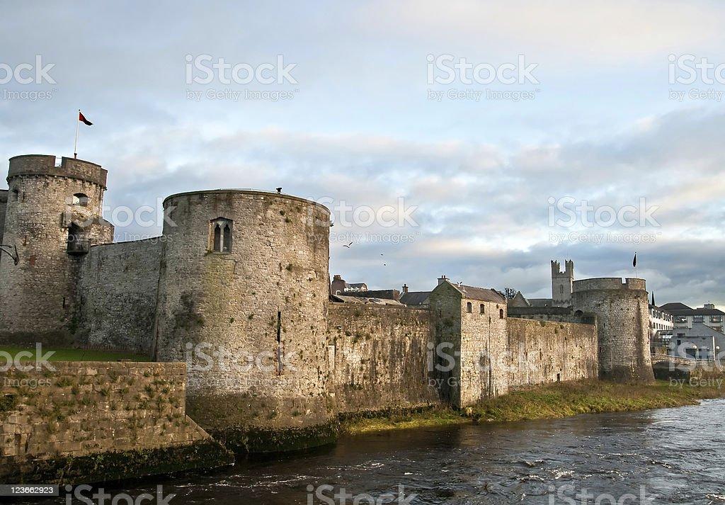 King John's Castle royalty-free stock photo