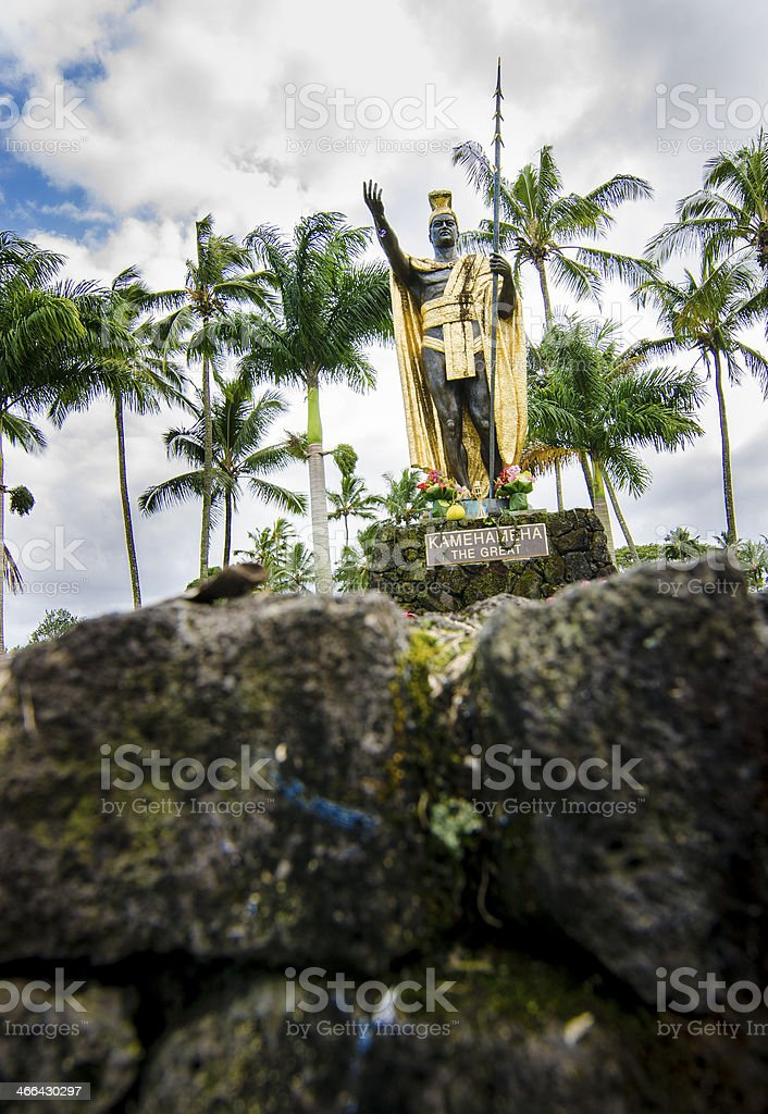 King Kamehameha the Great stock photo