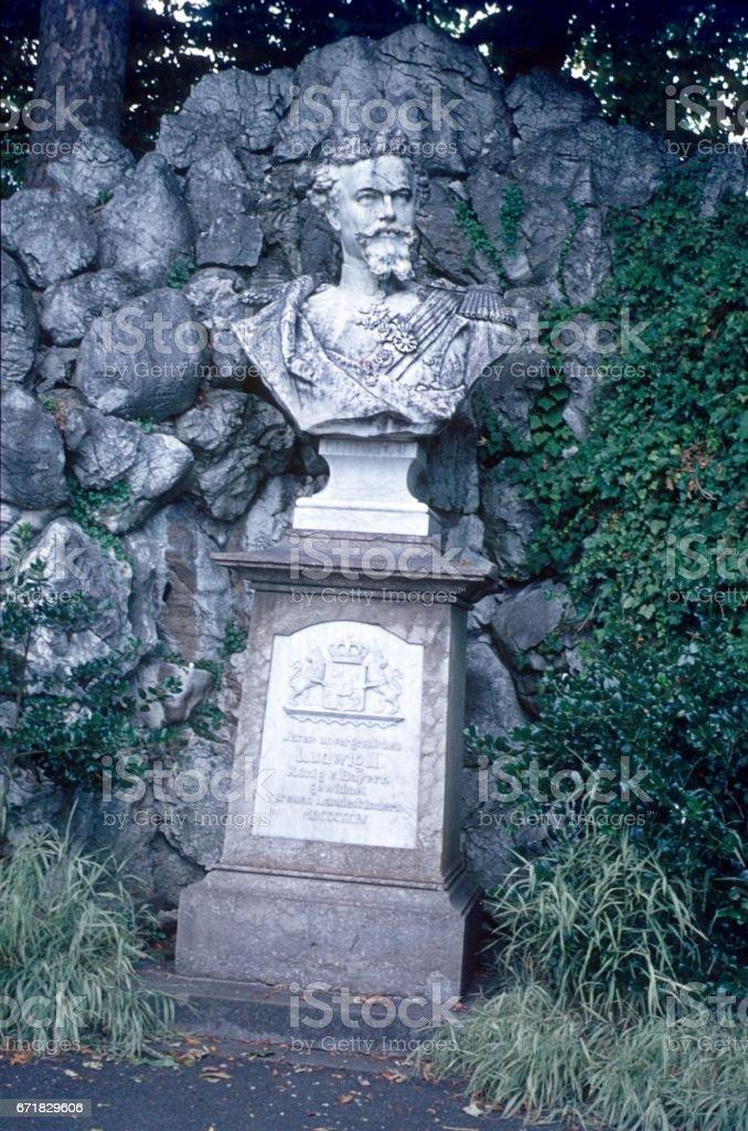 King Ludwig of Bavaria Monument stock photo