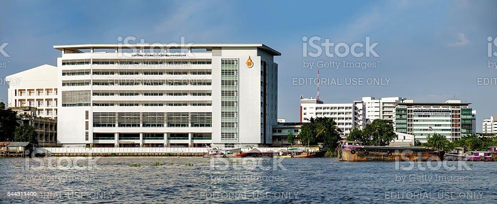 King Mongkut's University of Technology North Bangkok, Thailand. stock photo