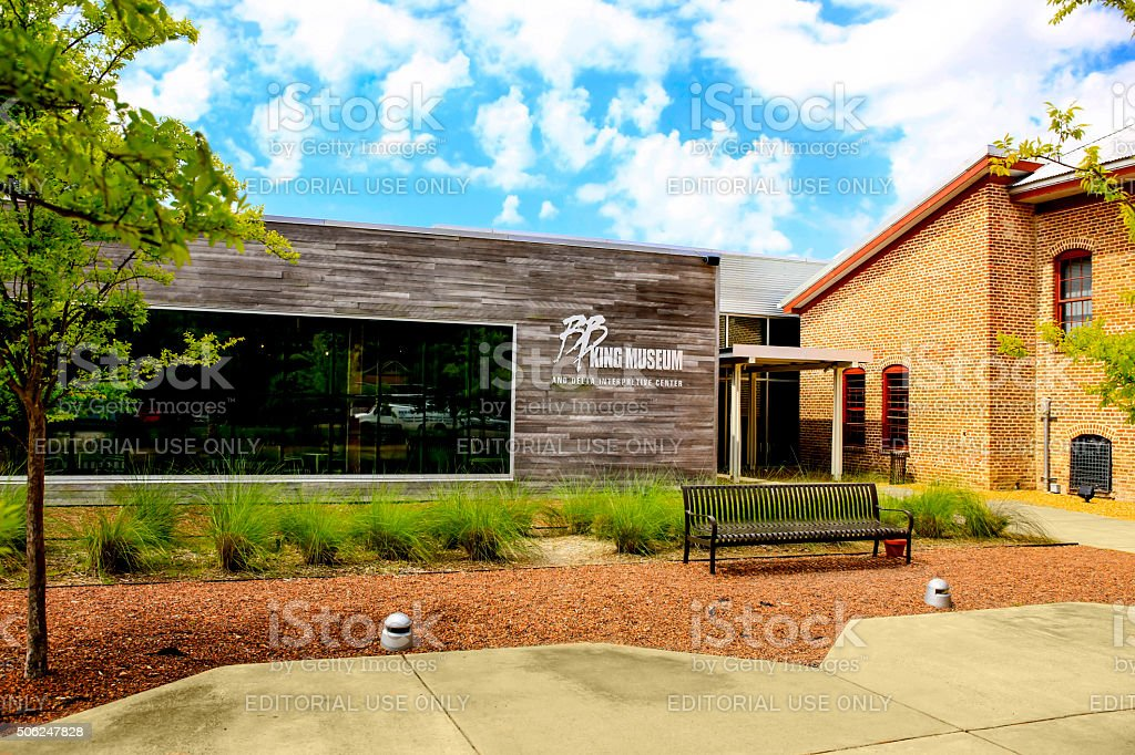 B.B. King Museum and Delta Interpretive Center in Indianola MS stock photo