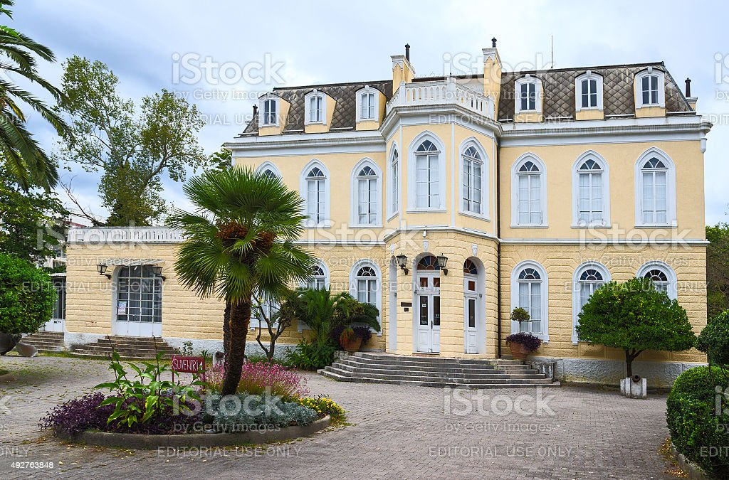 King Nikola's Palace (Palace Topolitsa) in Bar, Montenegro stock photo