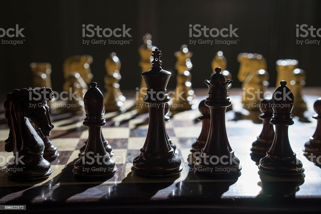 KIng of Games stock photo