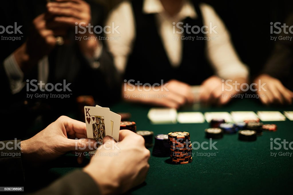 King of hearts stock photo