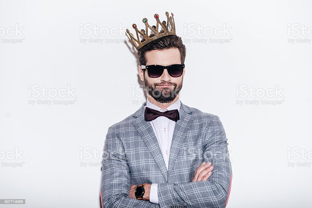 King of style. stock photo