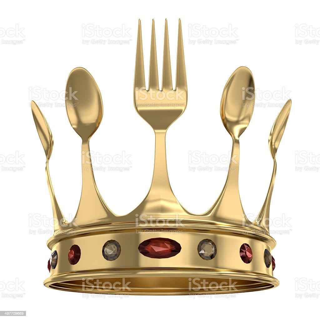 King of the kitchen stock photo