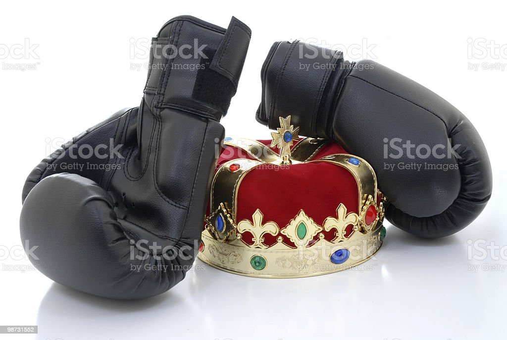 King of the ring royalty-free stock photo