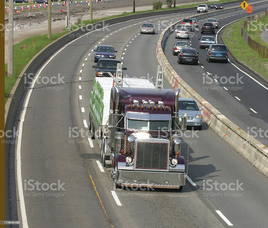 King of the Road royalty-free stock photo