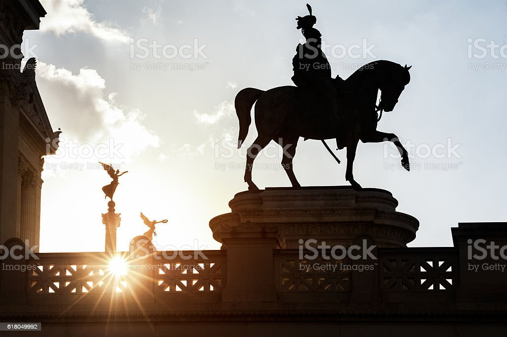 King on the march to victory and glory stock photo