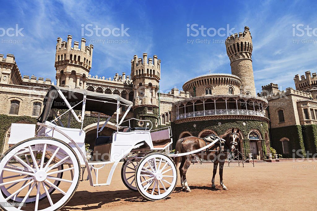 King Palace royalty-free stock photo