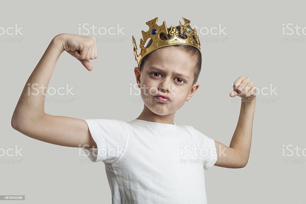 King stock photo
