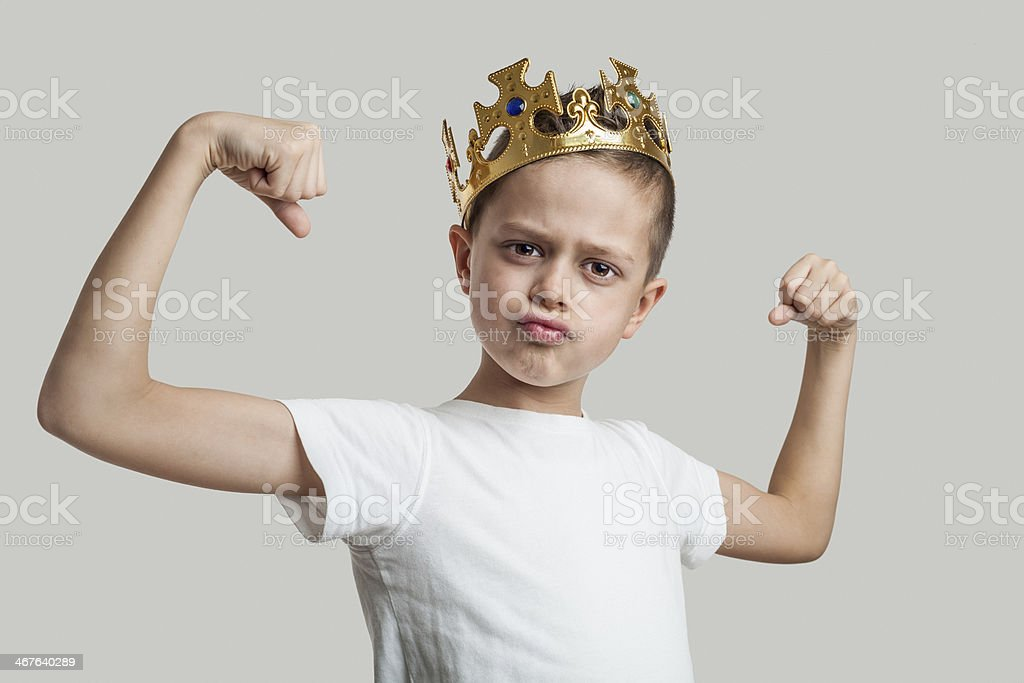 King stock photo