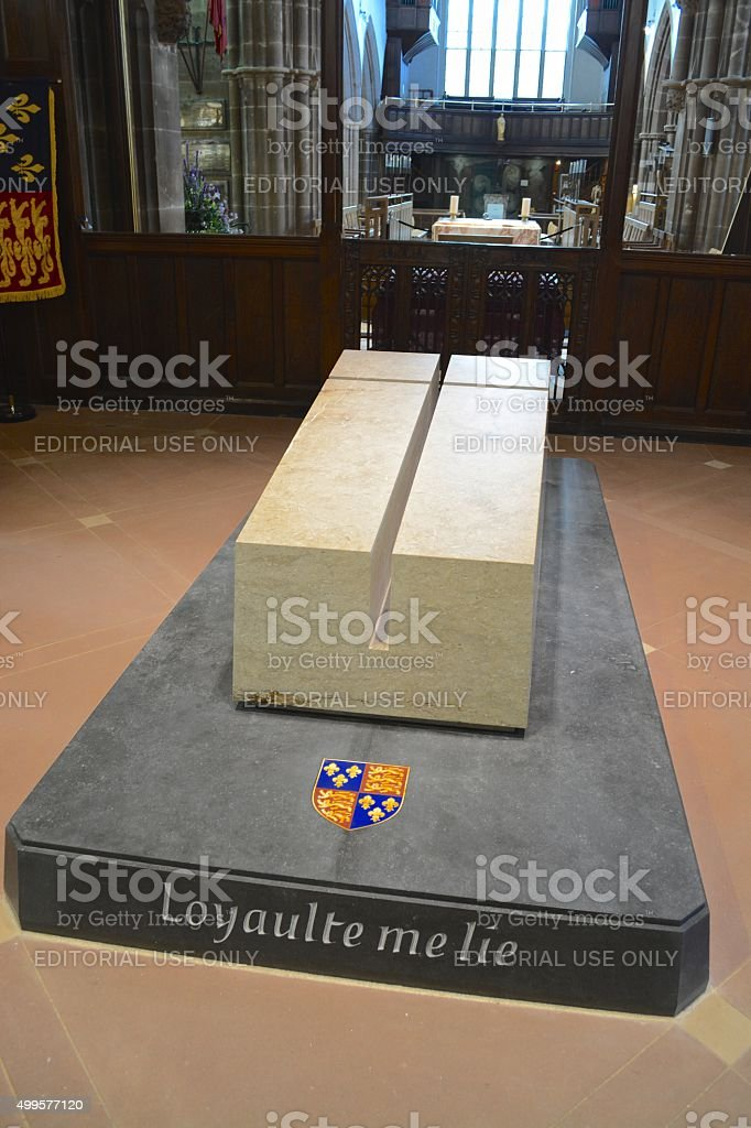 King Richards Tomb stock photo