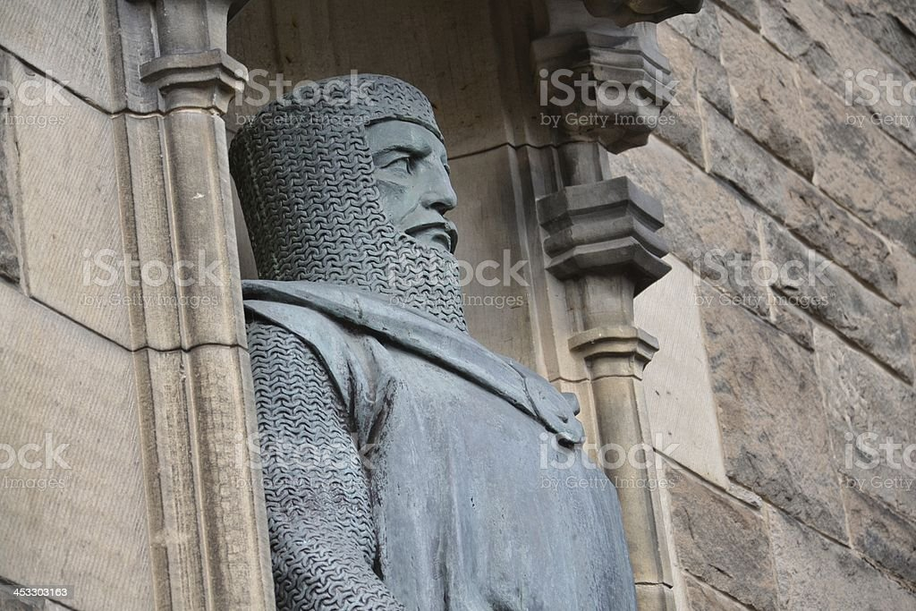 King Robert the Bruce of Scotland stock photo