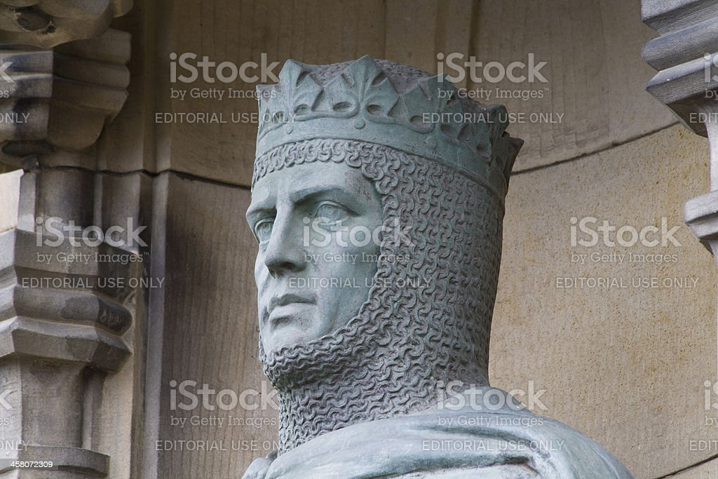 King Robert the Bruce stock photo