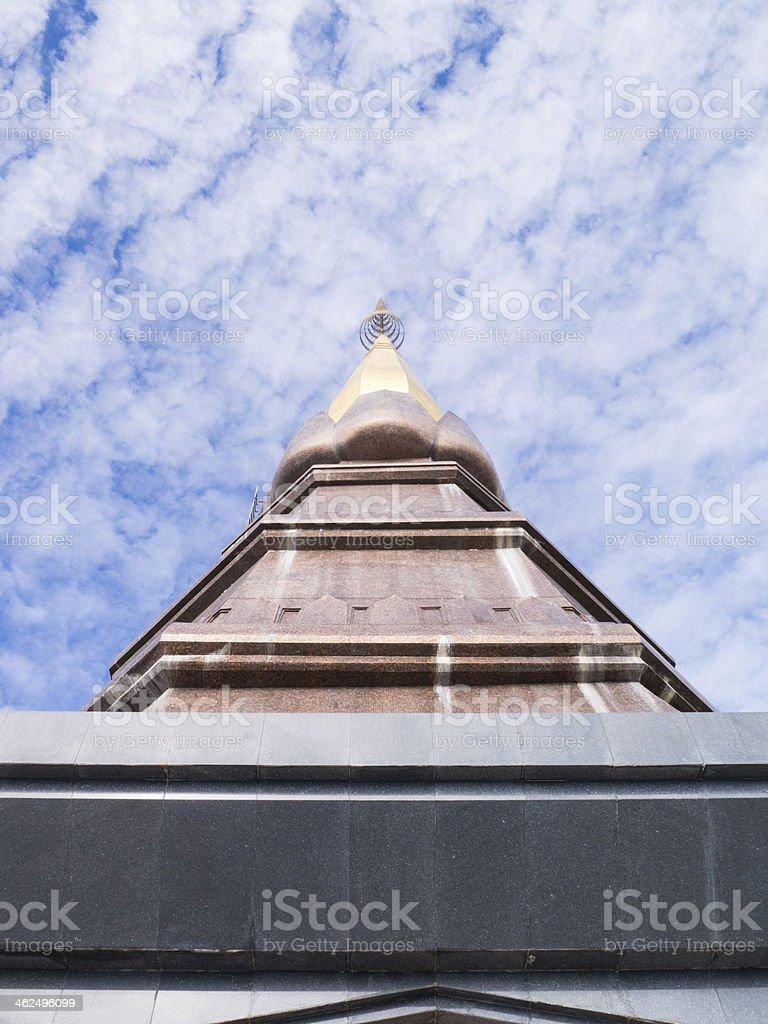 king 's pagoda, naphamethanidon royalty-free stock photo
