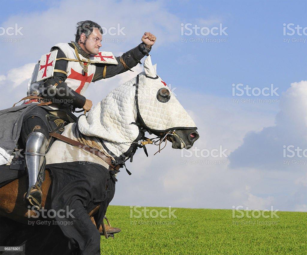 King Templar stock photo