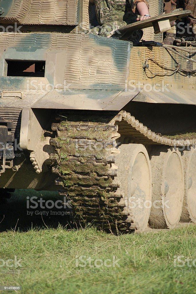 King Tiger Tank. royalty-free stock photo