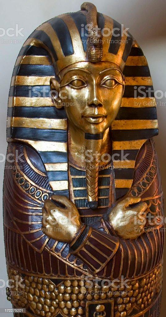 King Tutankhamun royalty-free stock photo