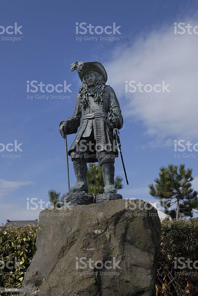 King William III Statue stock photo