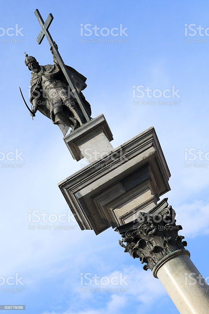 King Zygmunt Column - Kolumna Zygmunta, Warsaw stock photo