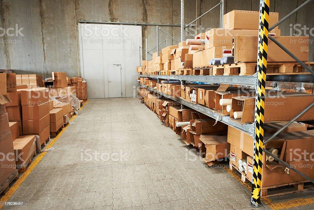 Kingdome of boxes stock photo
