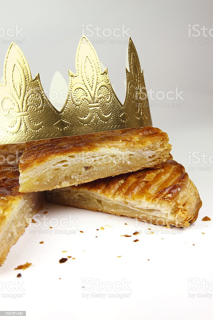 Kings Cake stock photo