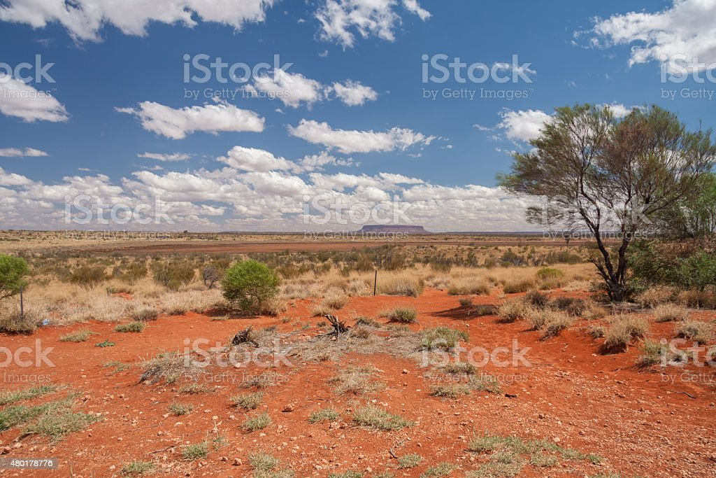 KIngs Canyon, Australia - Stock Image stock photo