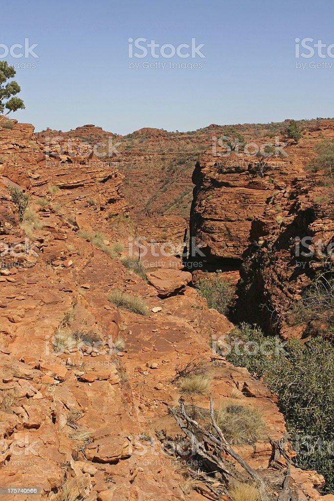 Kings canyon national park, Australia royalty-free stock photo