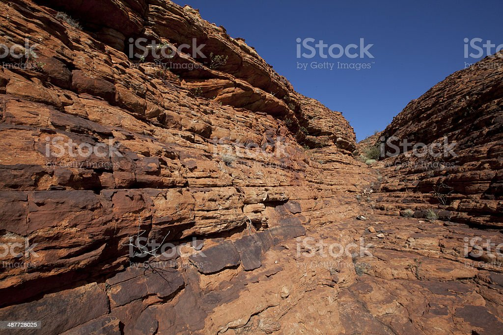 Kings canyon national park, Australia royalty-free stock photo