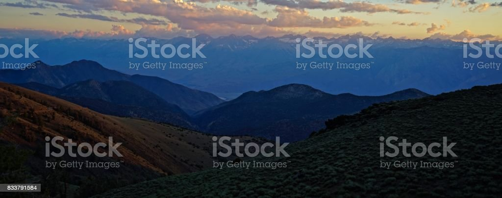 Kings Canyon National Park High Country stock photo