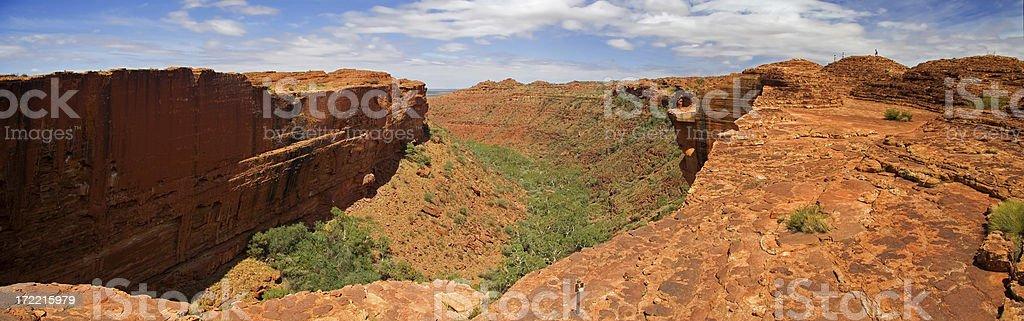 Kings Canyon National Park panorama stock photo