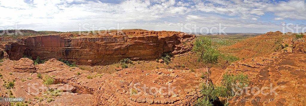 Kings Canyon National Park panorama XL royalty-free stock photo