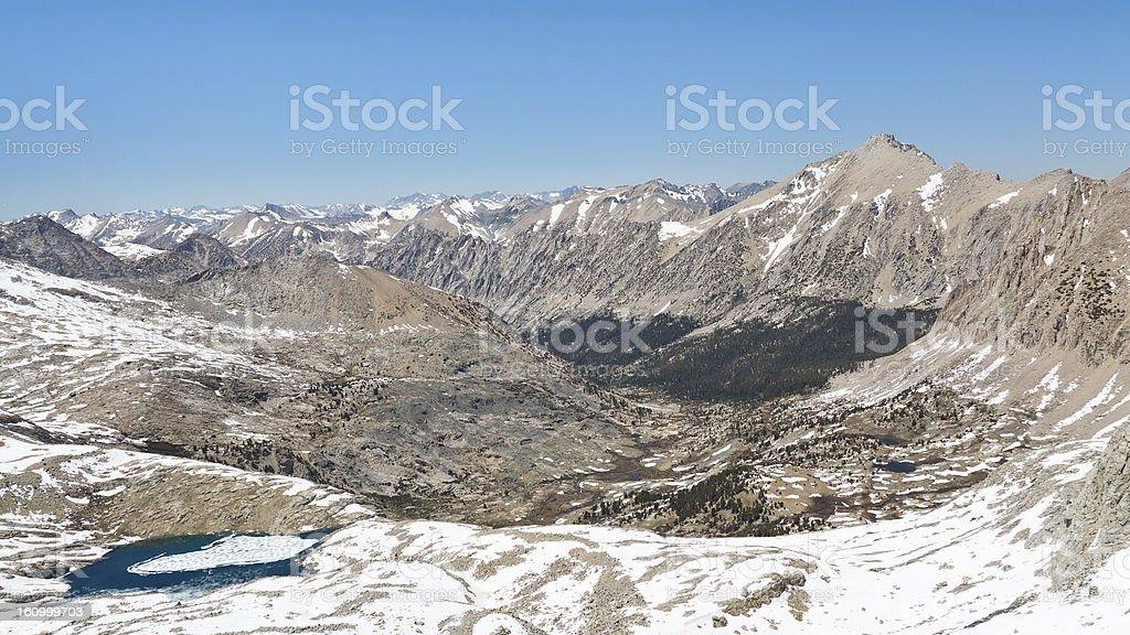 Kings Canyon National Park Scenery stock photo