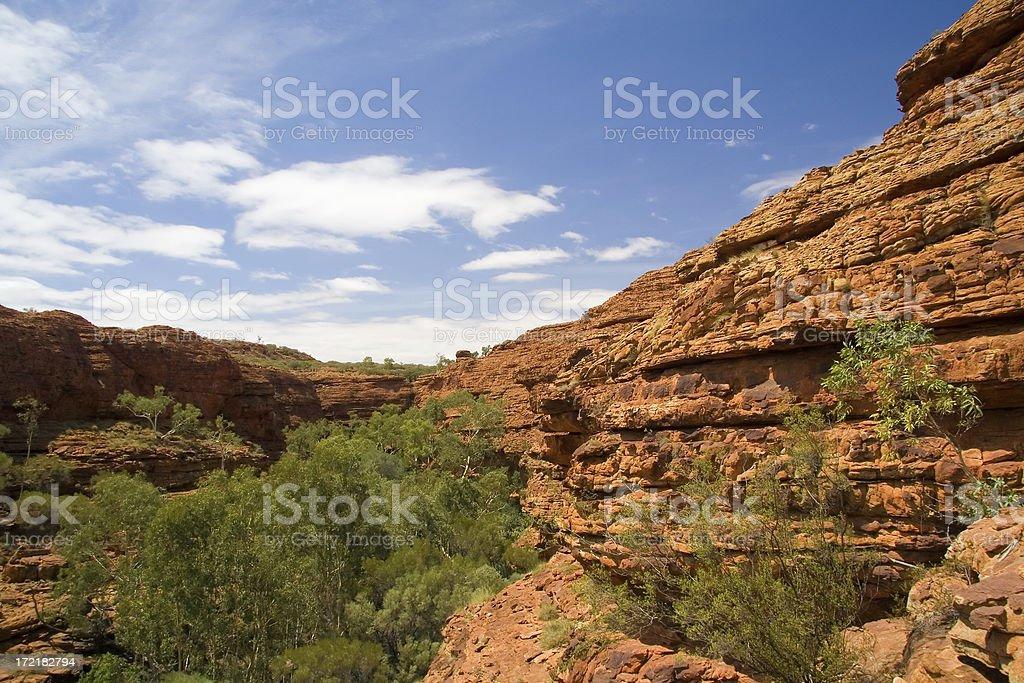 Kings Canyon National Park - The Garden of Eden stock photo