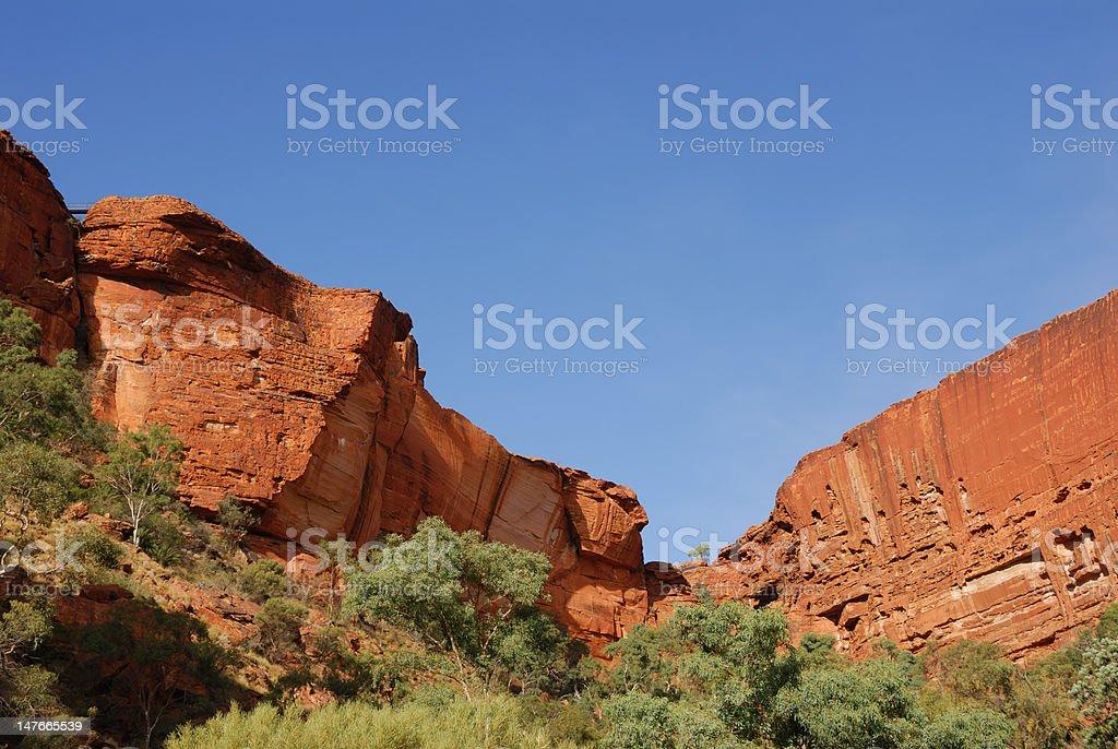Kings Canyon - Northern Territory Australia royalty-free stock photo