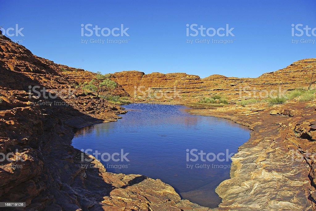 Kings canyon stock photo