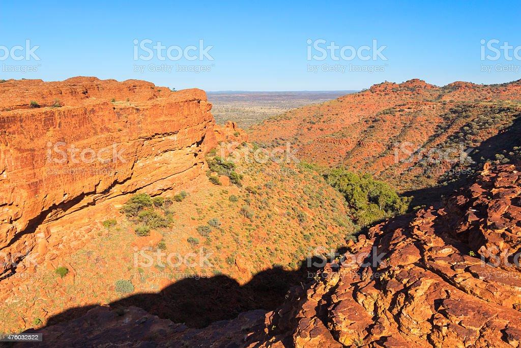 Kings Canyon Watarrka National Park Australia stock photo