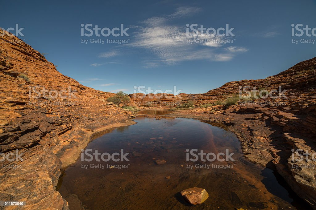 Kings Canyon, Watarrka National Park stock photo