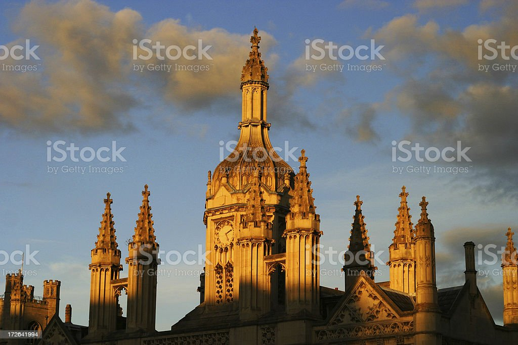 King's College Cambridge UK stock photo