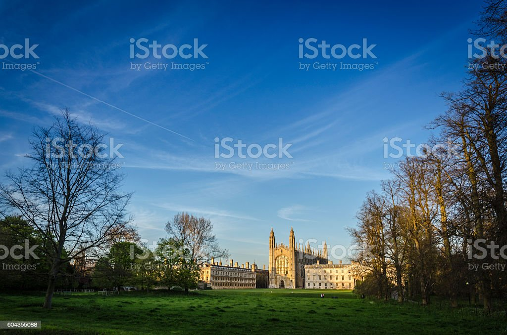 King's College, Cambridge, UK stock photo