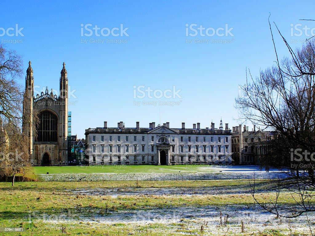 King's College, Cambridge University stock photo