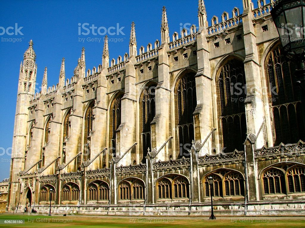 King's College, Cambridge University stock photo