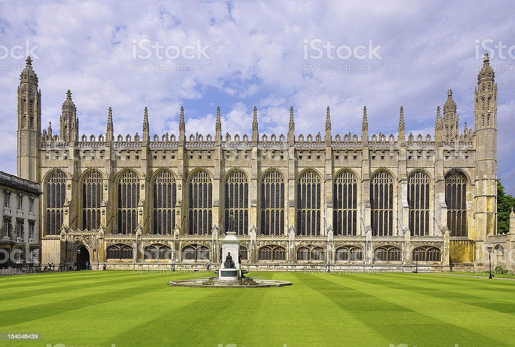 King's College Chapel, Cambridge, England stock photo