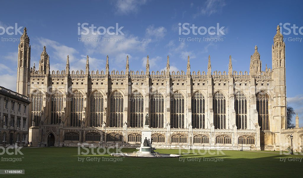 King's College Chapel stock photo