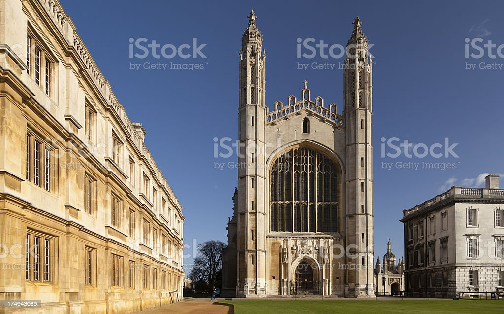 King's College Chapel royalty-free stock photo