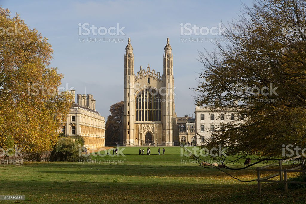 Kings College Chapel stock photo