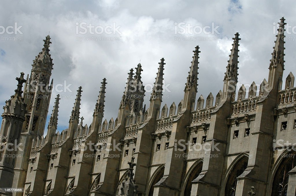 King's college royalty-free stock photo
